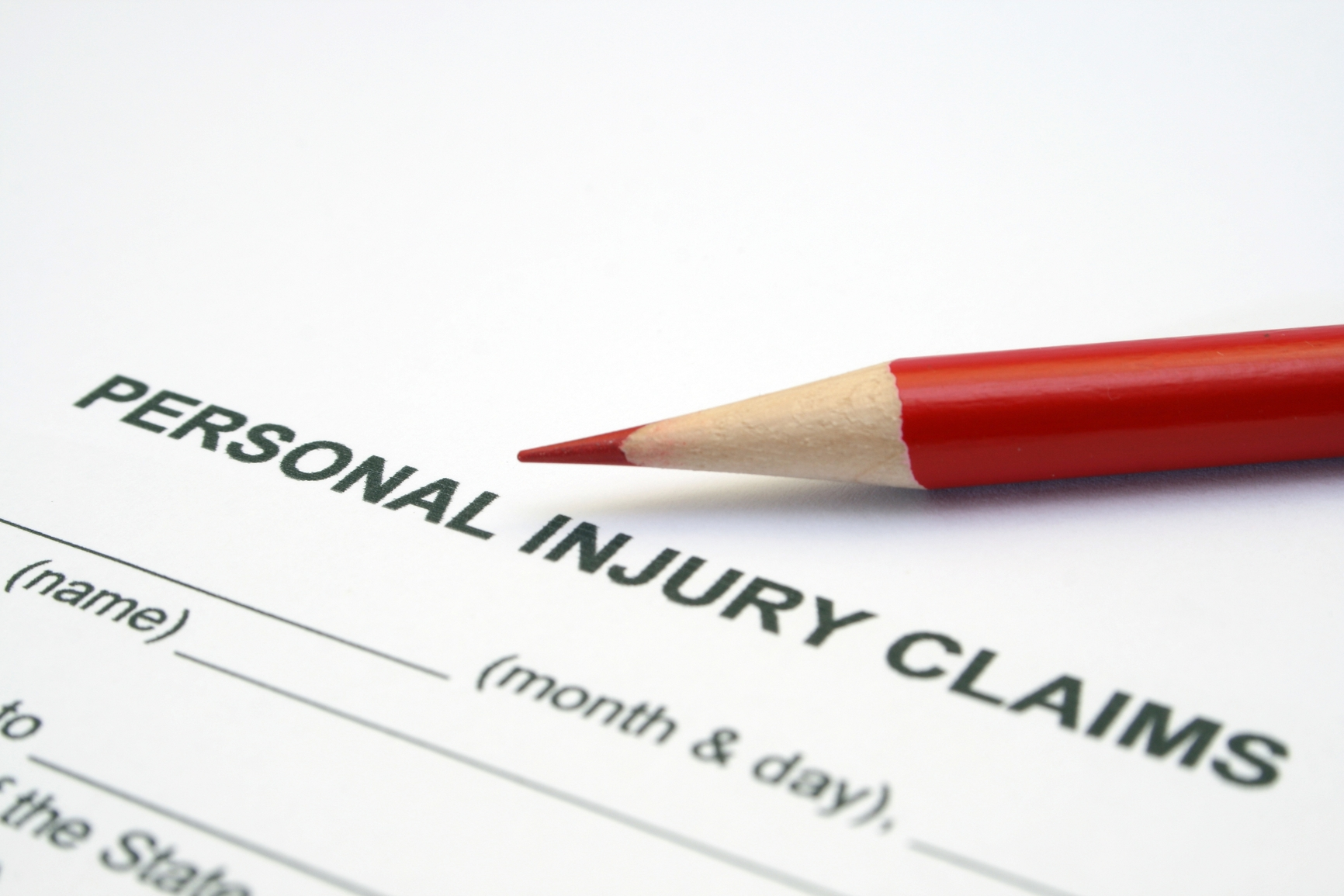 process of personal injury claim
